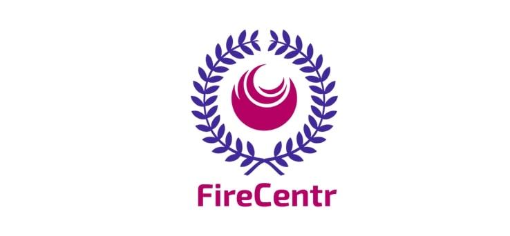 Логотип учебного центра Firecentr